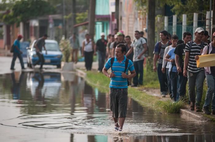 Retuvo el INM a 16,942 migrantes en marzo; cifra récord en 10 años