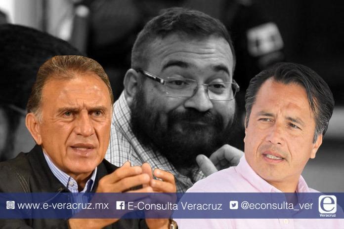 Javier Duarte desata cruce de palabras entre Yunes y Cuitláhuac