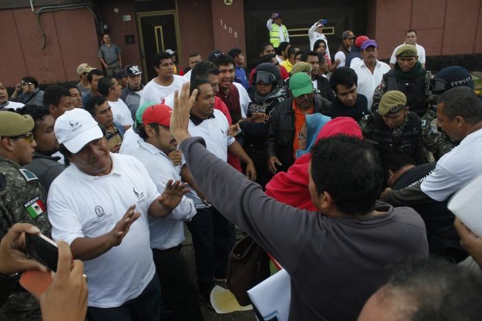 Protestas en los Centroamericanos por eventos reprogramados sin aviso