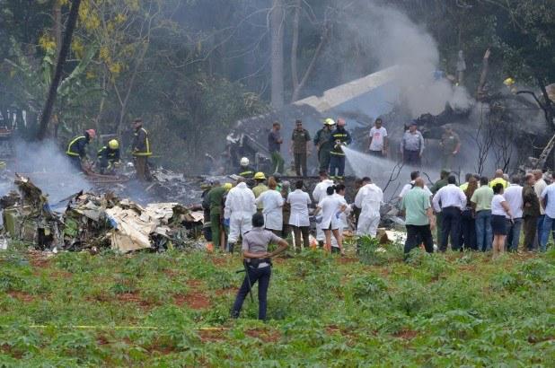 Se desploma en La Habana avión de empresa mexicana con más de 100 pasajeros