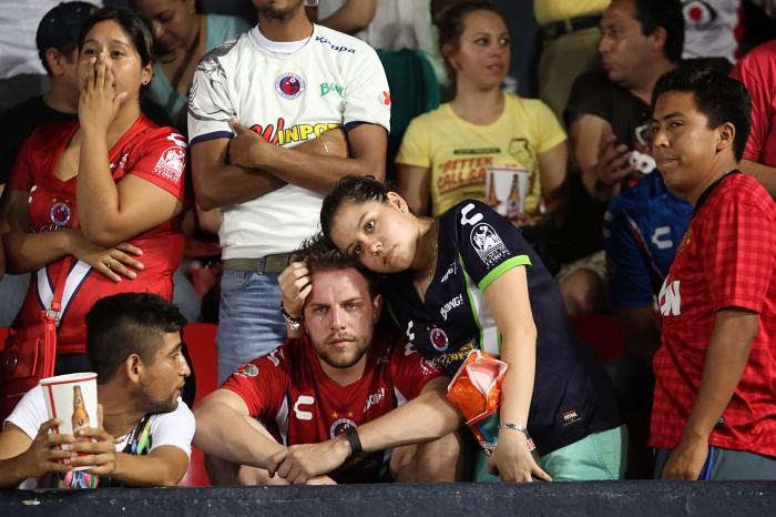 Imágenes del partido entre Veracruz y Querétaro