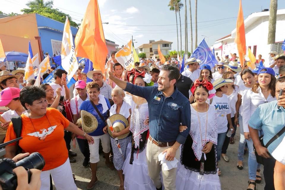 Encuesta que da ventaja a Cuitláhuac, es una burla: Yunes Márquez
