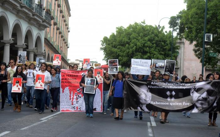 Registra 16 muertes y 74 agresiones contra periodistas en Veracruz