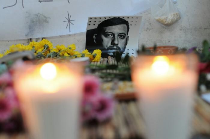 Rubén Espinosa in memoriam de Medios con M