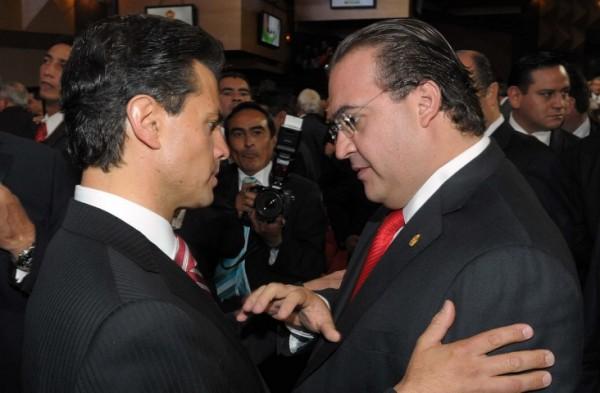 Javier Duarte desmintió publicación de Reforma