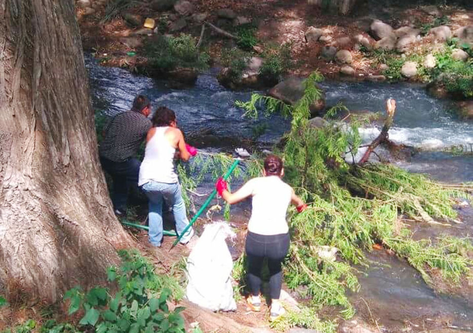 Con limpieza lograron retirar más de 50 toneladas del río Blanco
