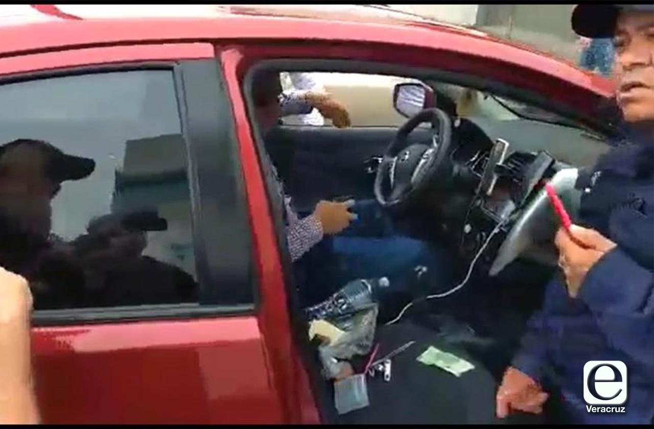 VIDEO   Así detuvieron a particulares que operaban InDriver en el puerto