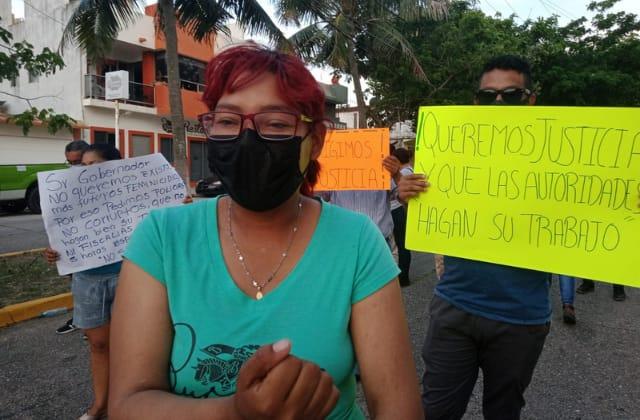 Trabajadora de SESVER Coatzacoalcos, denuncia agresión en hora laboral