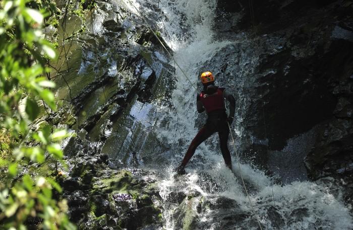 Imágenes del turismo de aventura en Xico, Veracruz