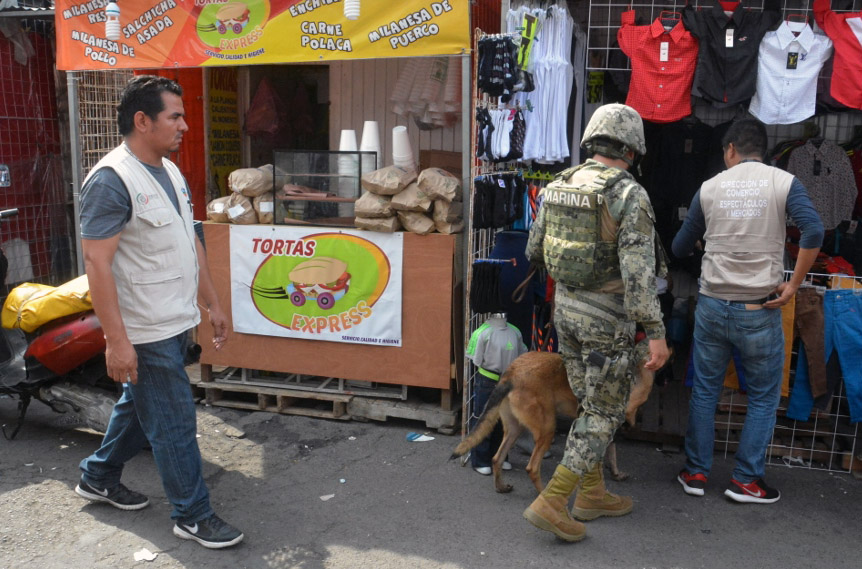 Realiza Ayuntamiento de Veracruz operativo de supervisión para detección de pirotecnia