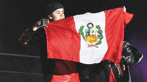 Justin Bieber regresa a Perú