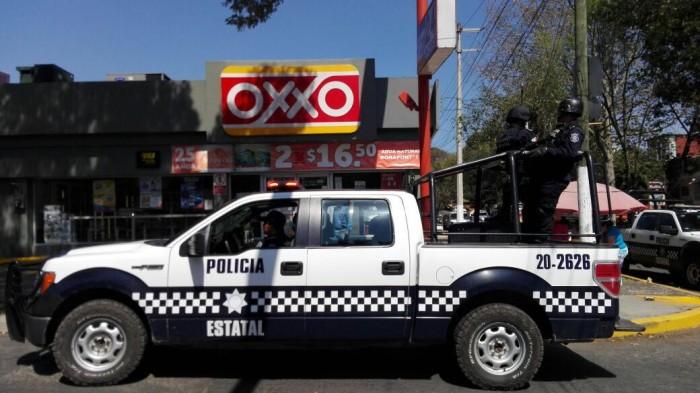 Asaltan dos veces en un día Oxxo en centro de Veracruz