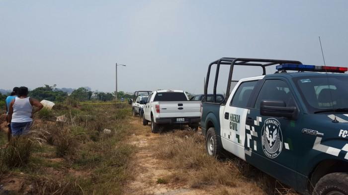 Encuentran cuerpo desmembrado en Cosoleacaque