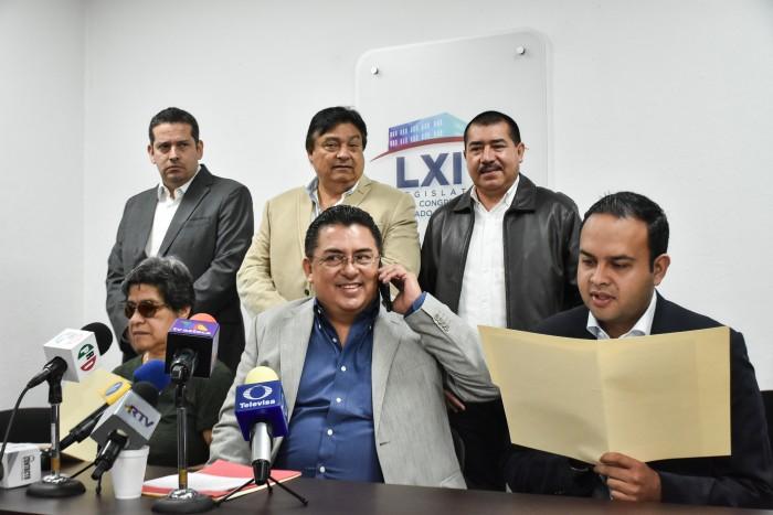 PRI y Juntos por Veracruz piden remoción de Sergio Hernández