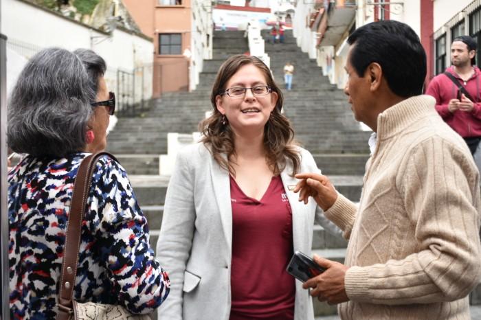 Anuncia Tanya Carola que buscará la diputación federal por Xalapa