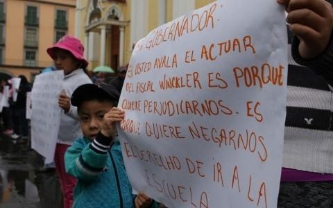 Vendedores de madera se quejan de detención injusta por parte de la FGE