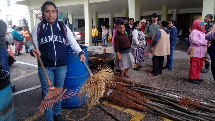 Otra vez en paro laboral, empleados de limpia pública en Coatzacoalcos