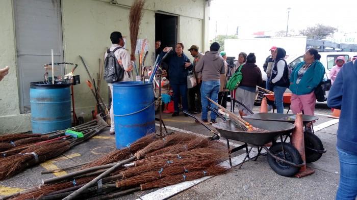 Paro laboral de trabajadores de limpia pública en Coatzacoalcos