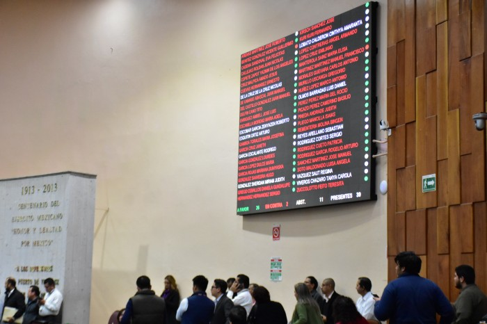 Diputados de Veracruz desechan propuesta que eliminaba su fuero