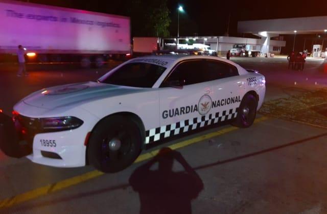 Asesinan a oficial de la GN en caseta de Ixhuatlán del Sureste