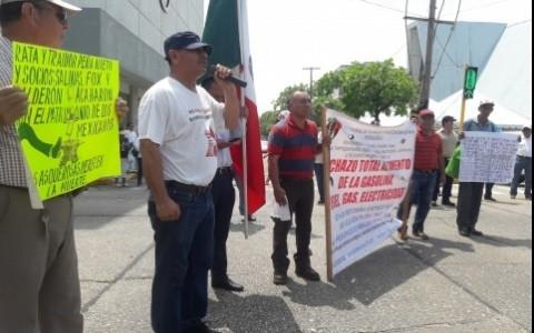 Reforma energética aumentó violencia en el sur de Veracruz: Marquina