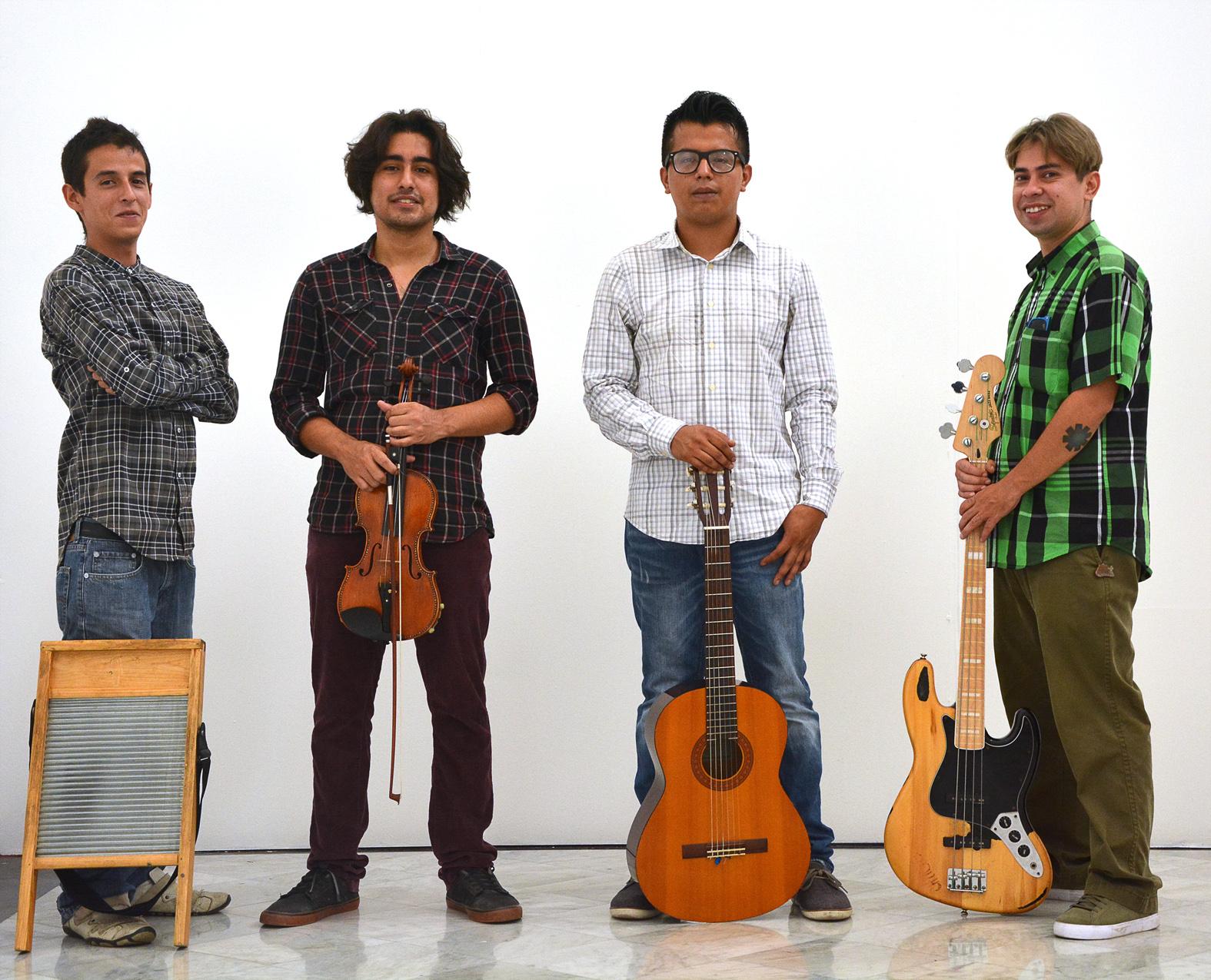 Jazz Manouche de Gallipsy cierra festejos galos, en Veracruz