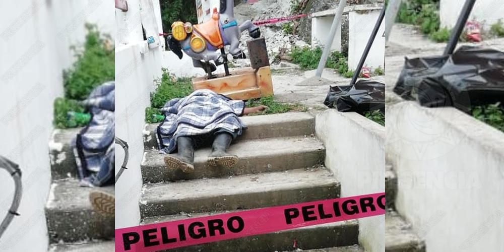Campesino muere tras ahogarse con su propio vómito, en Las Choapas