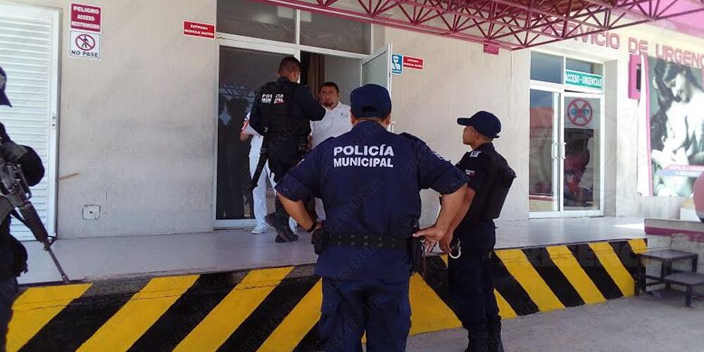 Campesino se dispara por accidente al limpiar arma, en Las Choapas