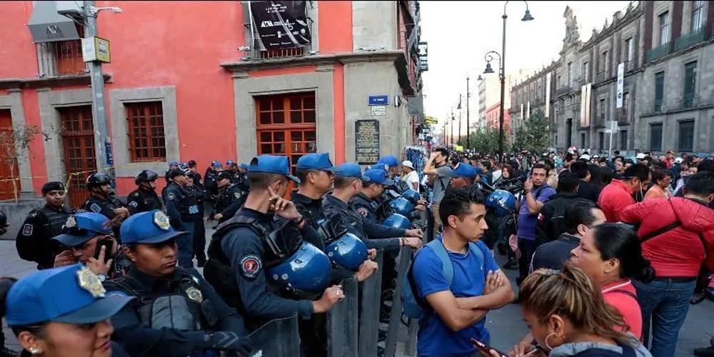 Identifican a agresor de balacera cercana a Palacio Nacional