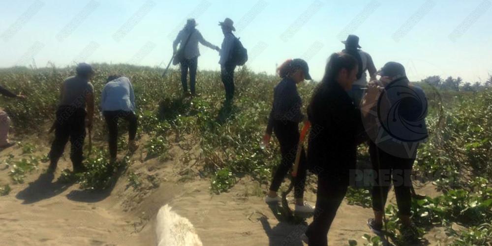 Hallan restos óseos en playas de Coatzacoalcos