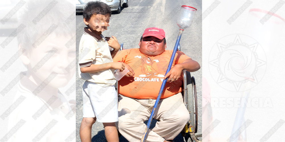 El deseo de Navidad de Mauricio es otra silla de ruedas