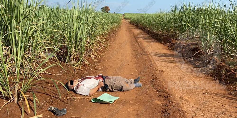 Hallan asesinado a presunto huachicolero, en Acayucan