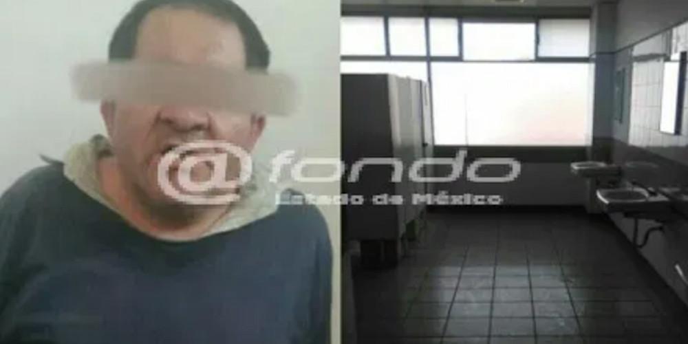 Sorprenden a un hombre abusando de un menor en baños del IMSS
