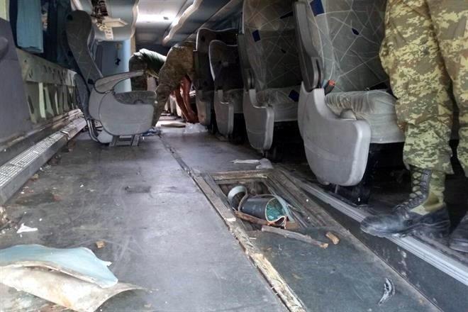 Sedena asegura en Poza Rica autobús con 172 kilos de cocaína