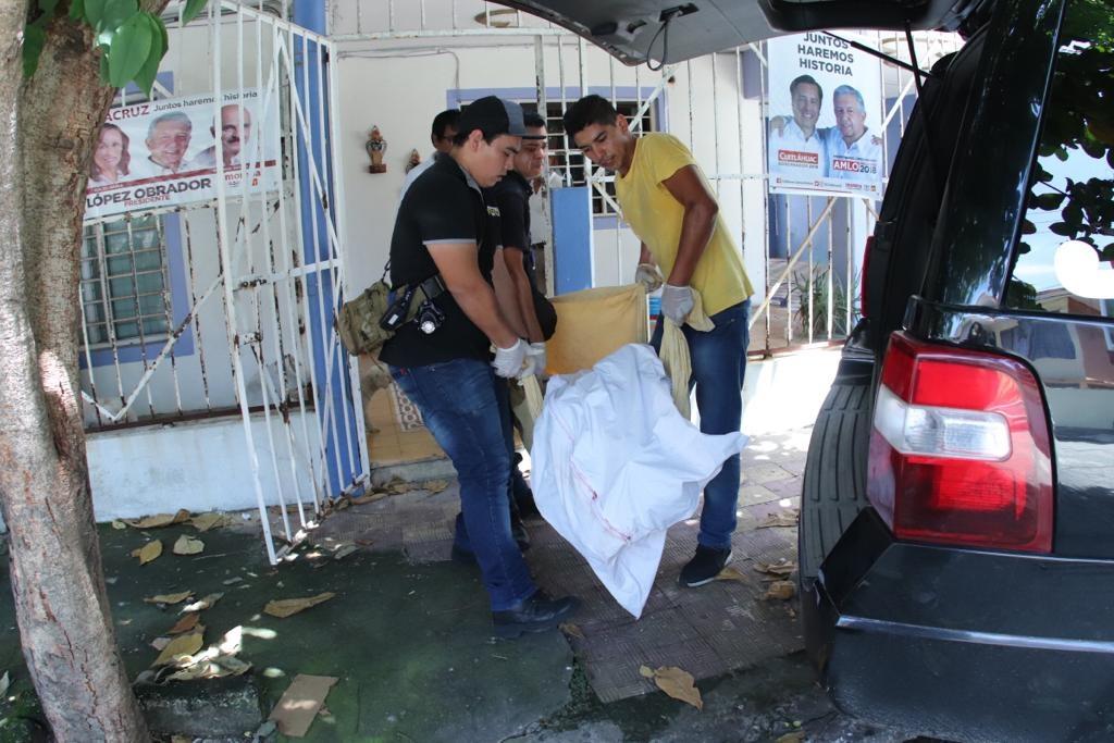 Veracruz: Hallan hombre muerto al interior de su domicilio