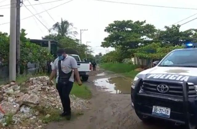 Abandonan cadáver con balazos en Coatzacoalcos