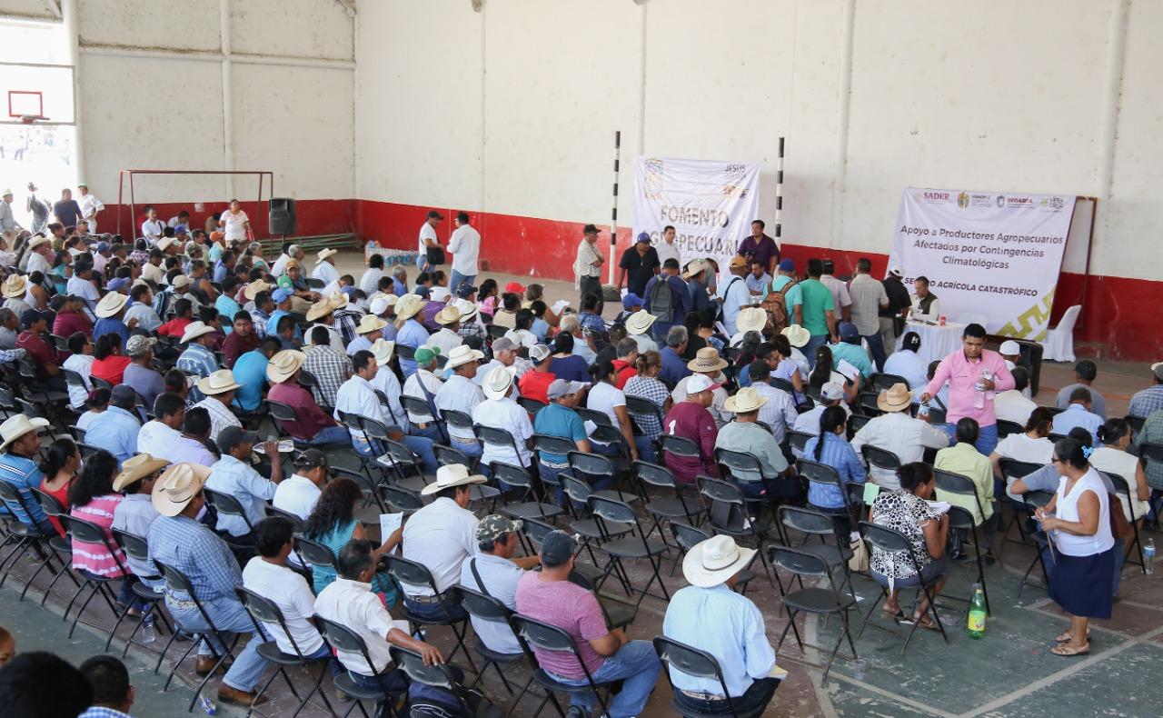 Tras inundaciones apenas dan 3 mil 300 pesos a productores afectados