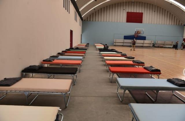 Habilitan albergues para personas evacuadas del CECAN