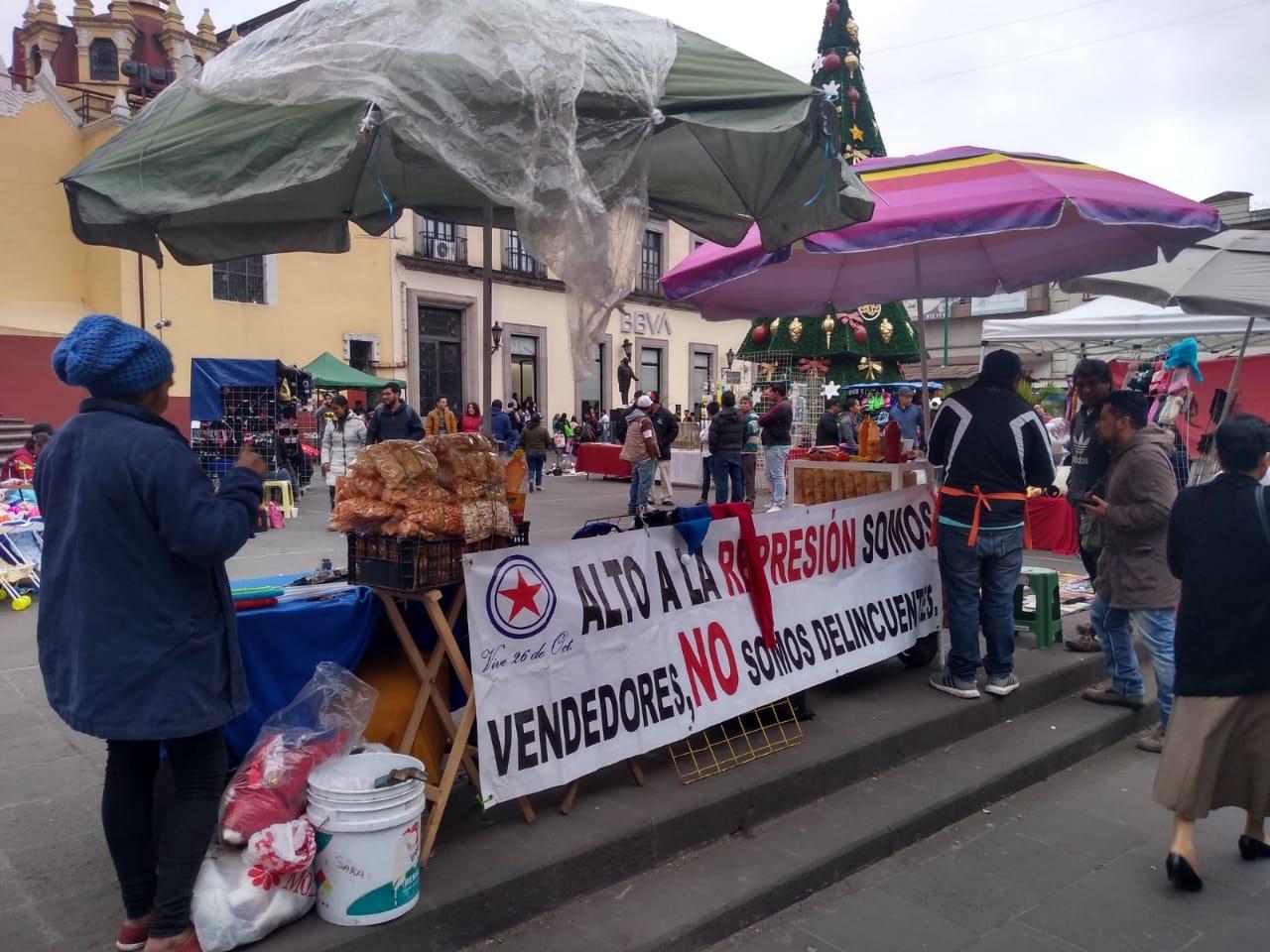 Ayuntamiento toma postura sobre desalojo de comerciantes