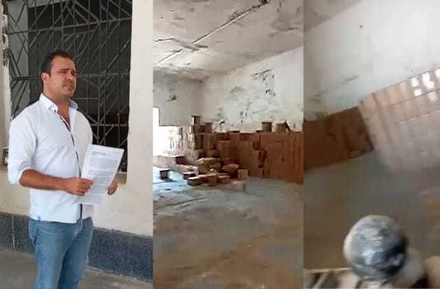 Hallan cientos de despensas en Fuerte de Perote; denuncian al PRI