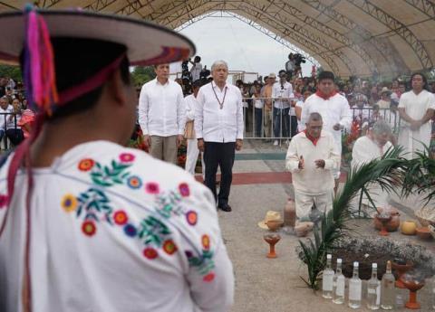 AMLO dará estímulos a la iniciativa privada que participe en el Tren Maya