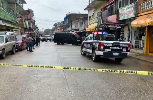 En hechos diferentes, asesinan y lesionan a habitantes de Minatitlán