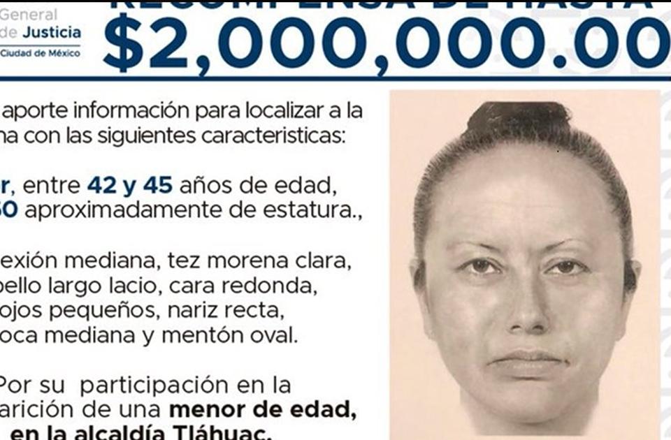 Así es el retrato hablado de la mujer que se llevó a Fátima
