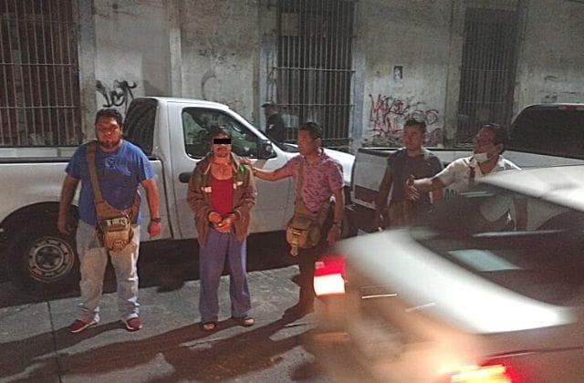Cae presunto asesino de adulto mayor en Córdoba
