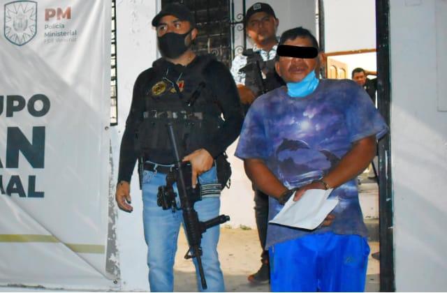 'El Cheto' fue detenido por violar a su prima, en San Juan Evangelista