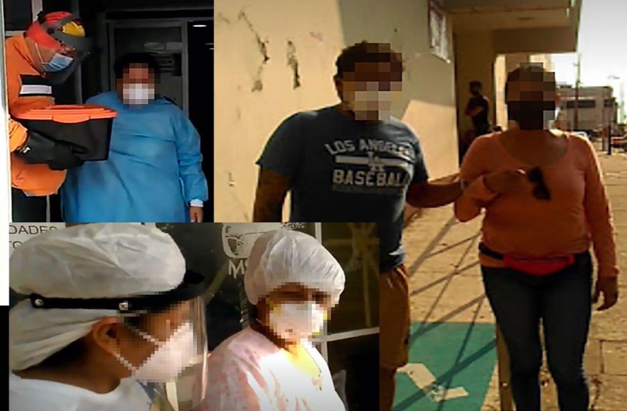 Siete pacientes dados de alta en un día en el IMSS de Coatza