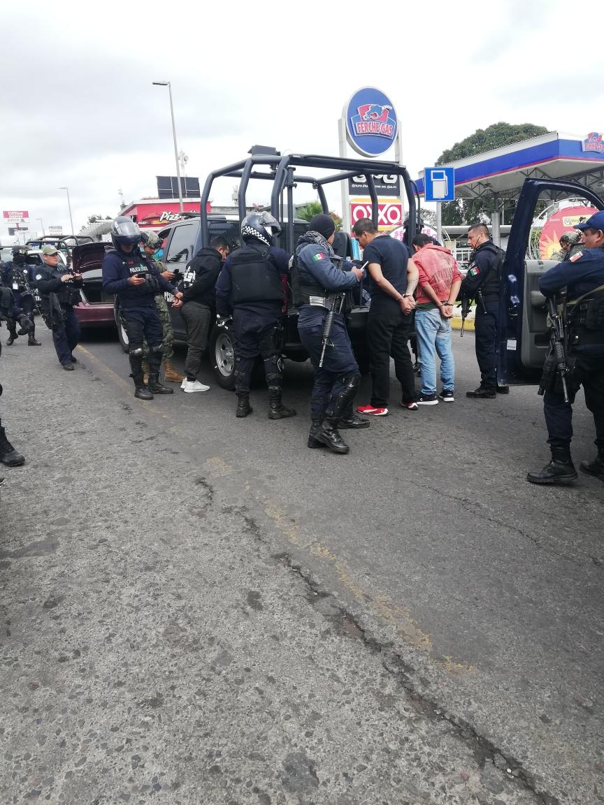 Balacera en Xalapa; hay tres detenidos