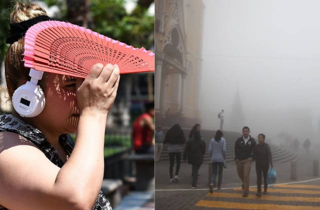 Frente frío en fin de semana daría tregua al calor en Veracruz