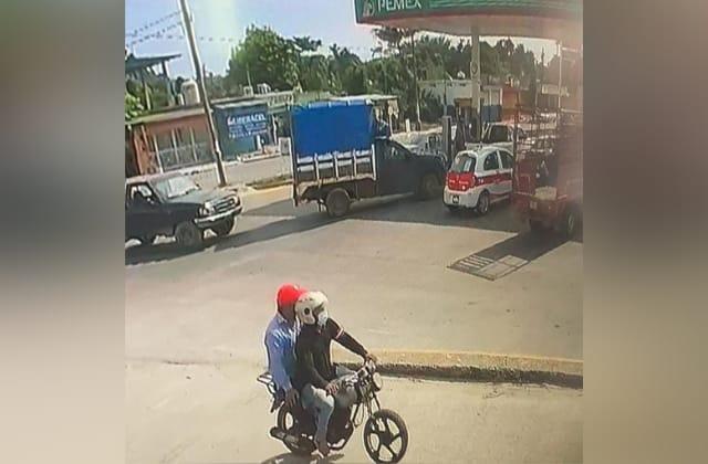 Mientras cargaba gasolina, asaltan a ganadero en Las Choapas