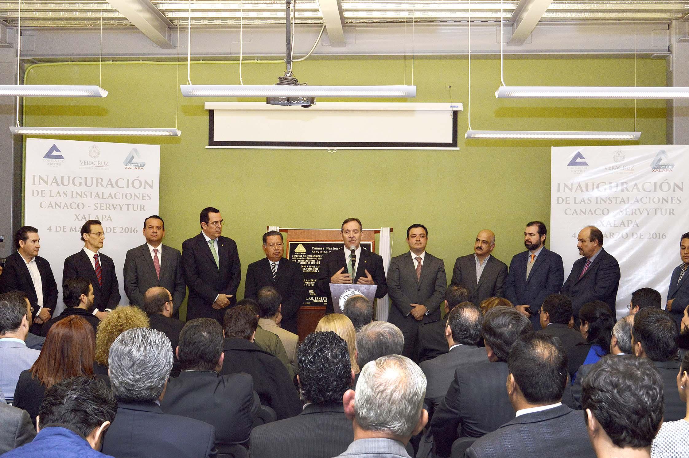 Inaugura Canaco por nuevas instalaciones en Xalapa